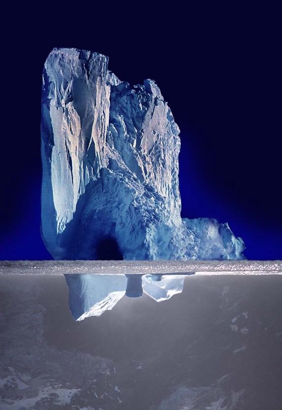 Inverted Iceberg