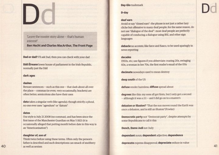 The Guardian Book of the English Language